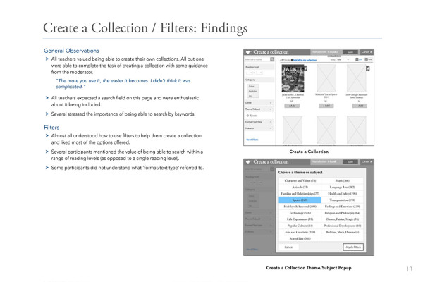 13. Create Collection Findings1