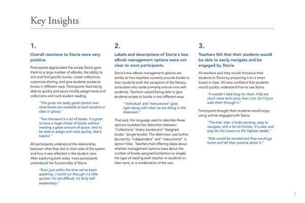 2. Key Insights